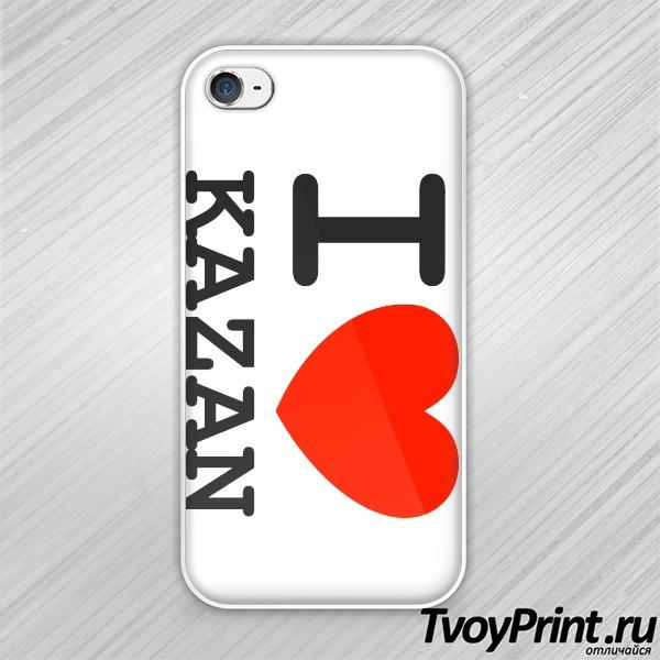 Чехол iPhone 4S Казань