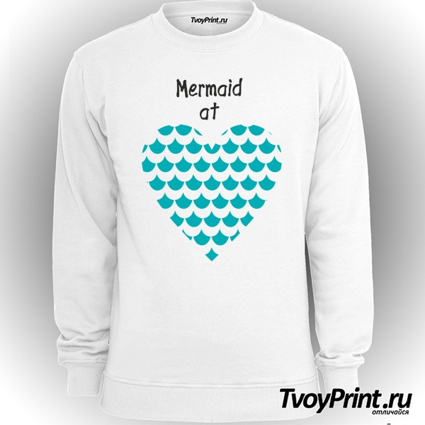 Свитшот Mermaid at love