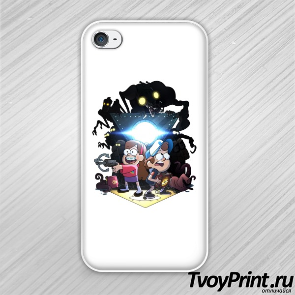 Чехол iPhone 4S Gravity Falls (1)