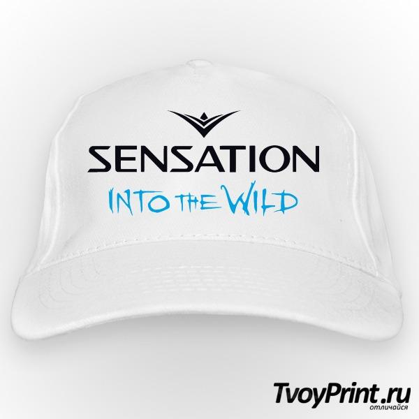 Бейсболка Sensation into the wild