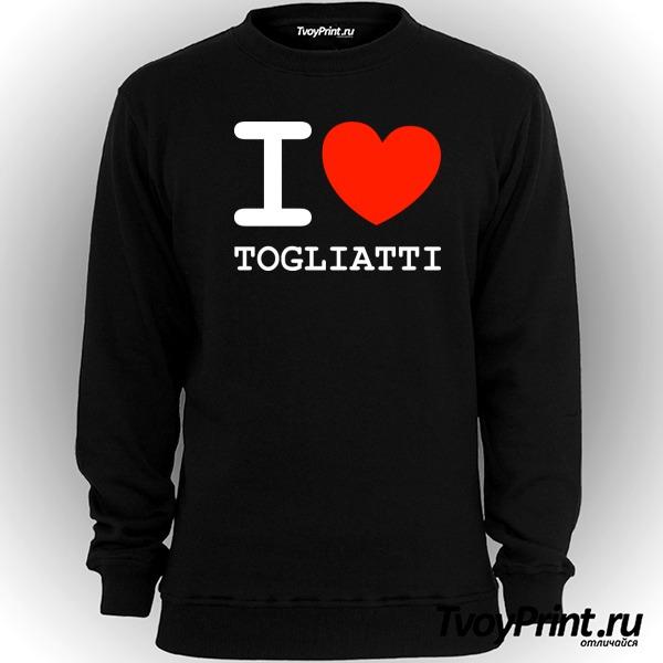 Свитшот Я люблю Тольятти