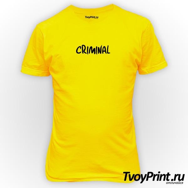 Футболка CRIMINAL