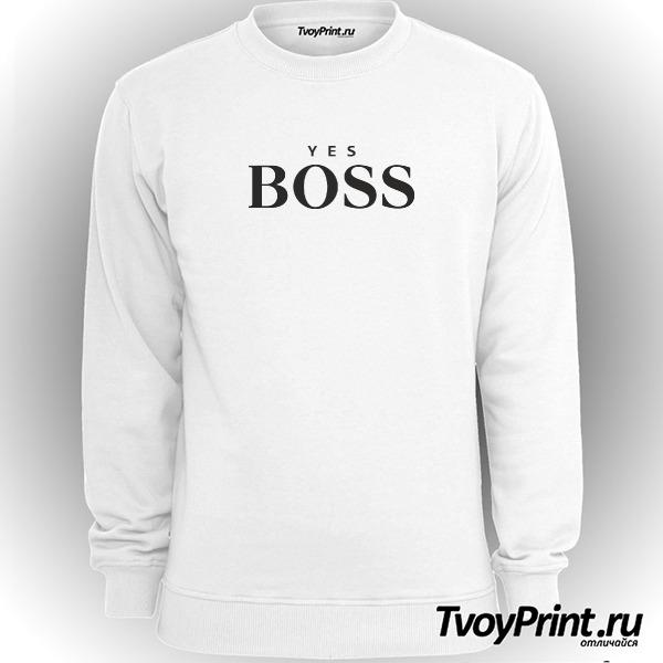 Свитшот yes boss