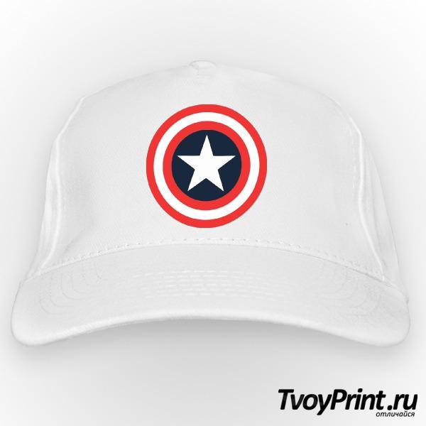 Бейсболка Щит Капитана Америка