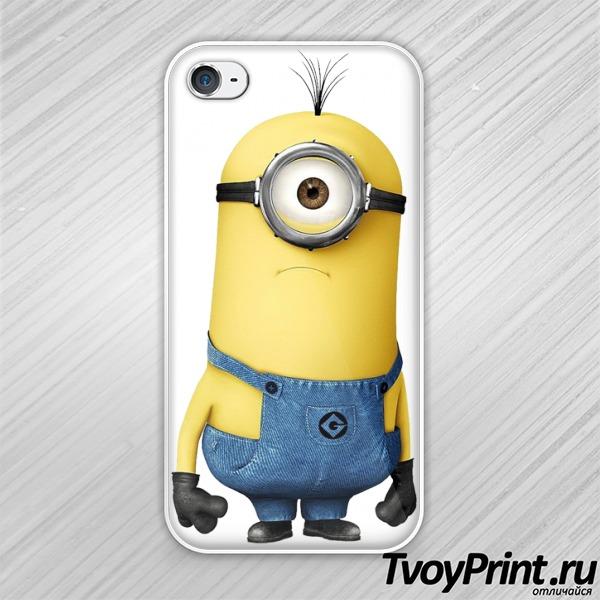 Чехол iPhone 4S Миньон 2