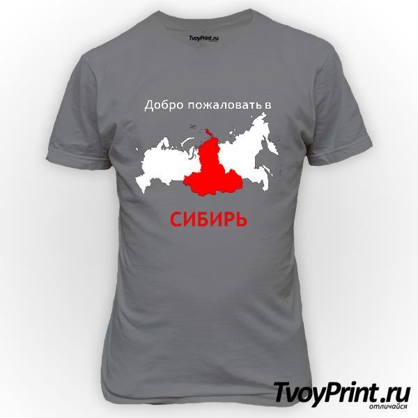 Футболка Сибирь