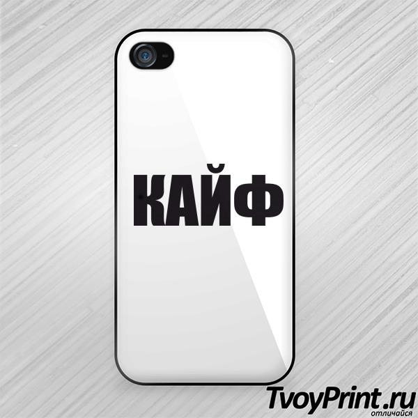 Чехол iPhone 4S кайф