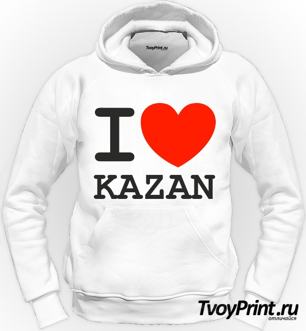Толстовка Казань