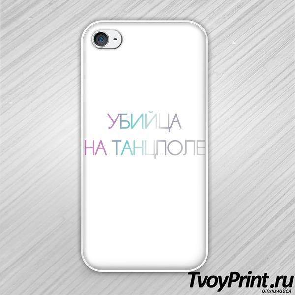 Чехол iPhone 4S Убийца на тацполе