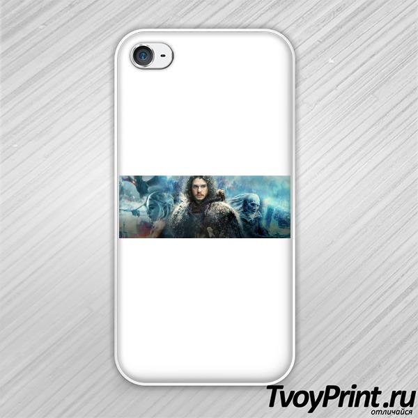 Чехол iPhone 4S Джон Сноу