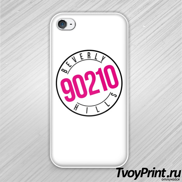 Чехол iPhone 4S Beverly Hills  90210