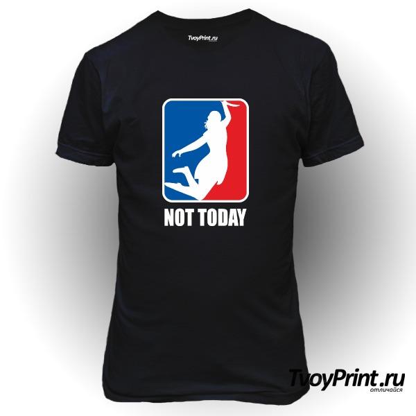 Футболка no today (nba)