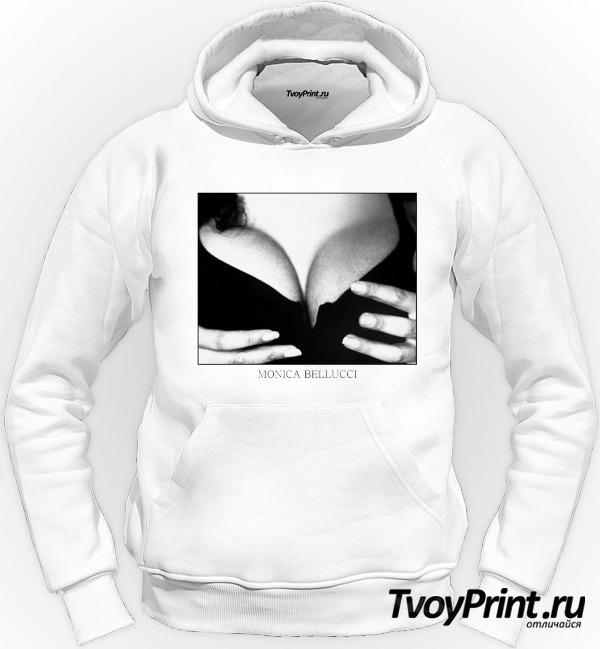 Толстовка грудь Моники Беллуччи (Monica Bellucci)