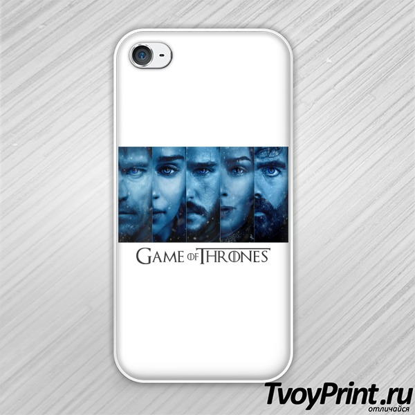 Чехол iPhone 4S  Game of Thrones ( blue)