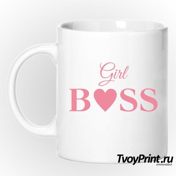 Кружка girl boss