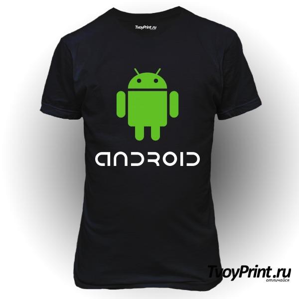 Футболка Андроид