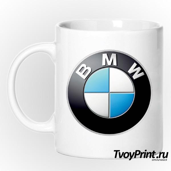 Кружка Логотип BMW значок