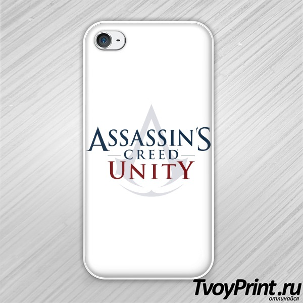 Чехол iPhone 4S Assassins creed unity
