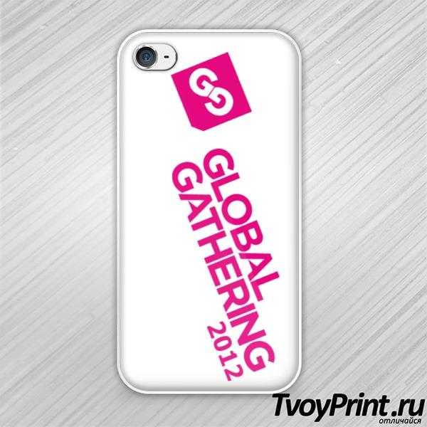 Чехол iPhone 4S Global Gathering (4)