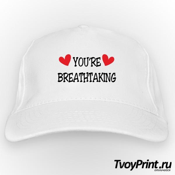Бейсболка YOU'RE BREATHTAKING