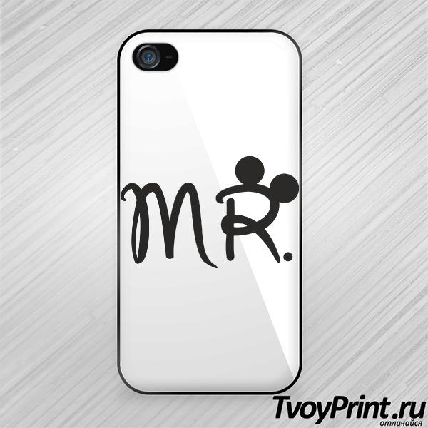 Чехол iPhone 4S Мистер Маус (муж.)