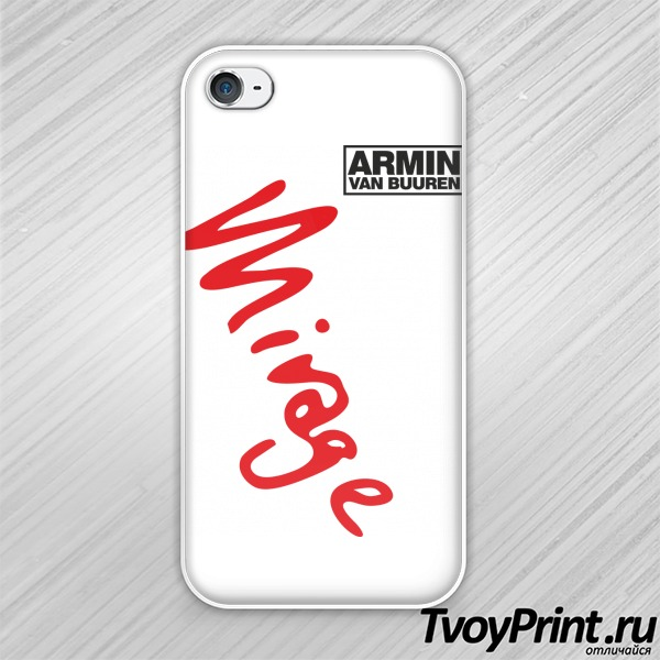 Чехол iPhone 4S Armin Van Buuren Mirage