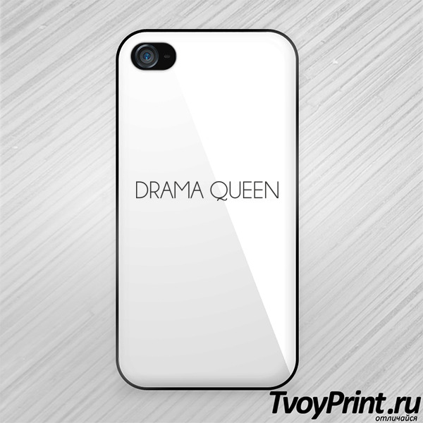 Чехол iPhone 4S drama queen