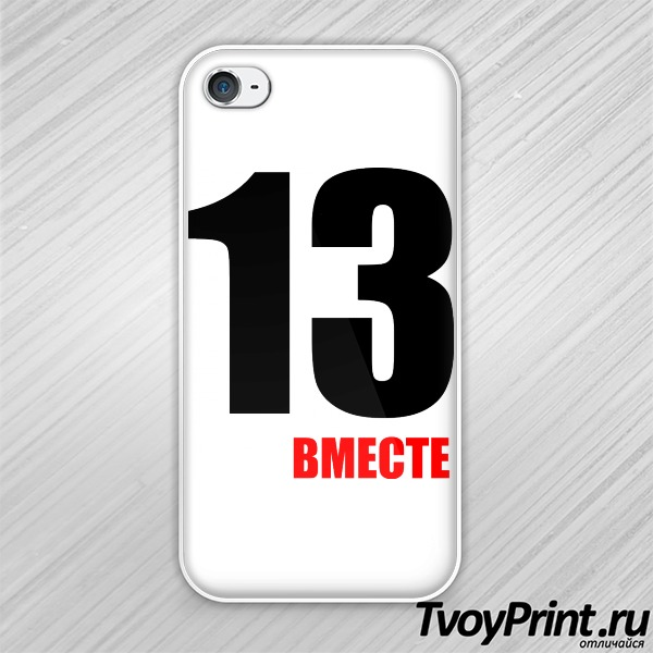 Чехол iPhone 4S парная 2013 правая