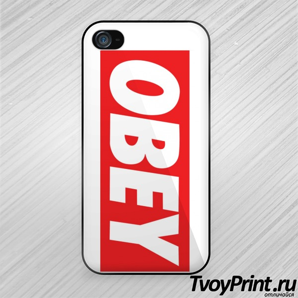 Чехол iPhone 4S Andy Warhol OBEY