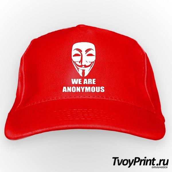 Бейсболка We are anonymous