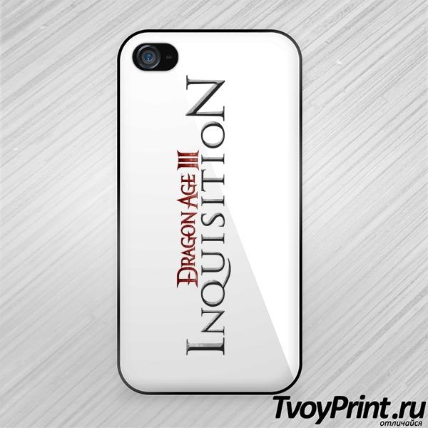Чехол iPhone 4S Dragon Age III: Inquisition