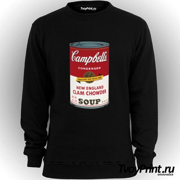Свитшот Andy Warhol campbell soup