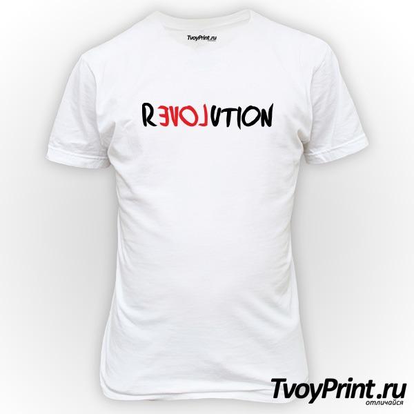 Футболка love revolution