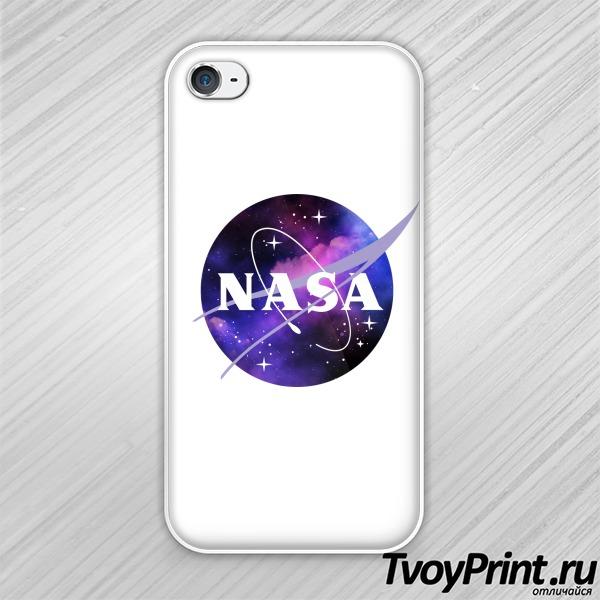 Чехол iPhone 4S nasa space