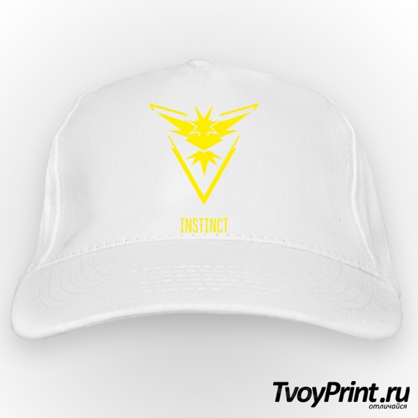 Бейсболка Yellow Team Instinct Pokemon Go Желтая команда