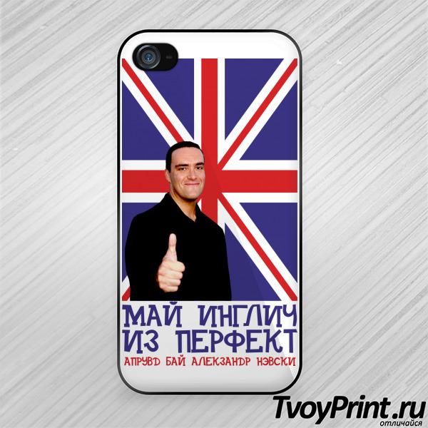 Чехол iPhone 4S Александр Невский Курицын