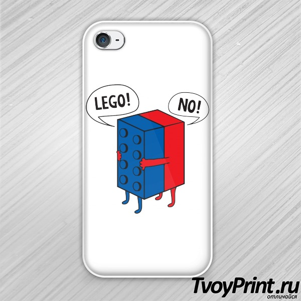 Чехол iPhone 4S Lego