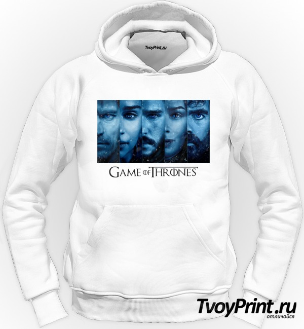 Толстовка  Game of Thrones ( blue)