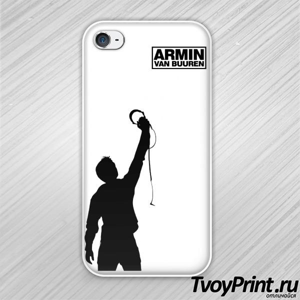 Чехол iPhone 4S Armin Van Buuren