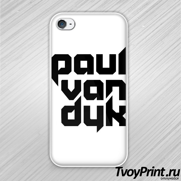 Чехол iPhone 4S Paul Van Dyk