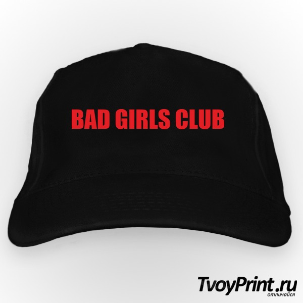 Бейсболка bad girls club