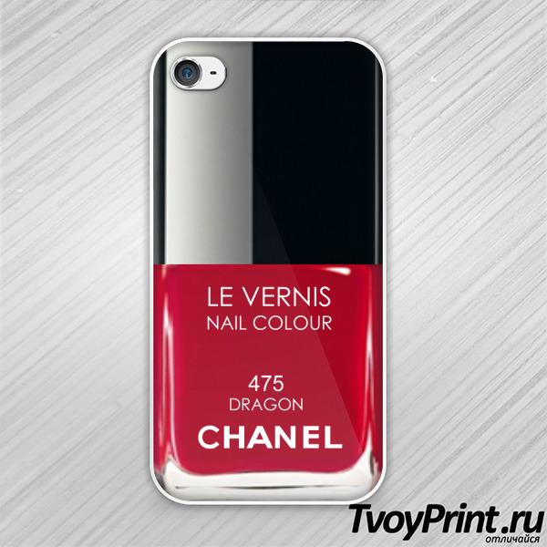 Чехол iPhone 4S Лак Chanel 475
