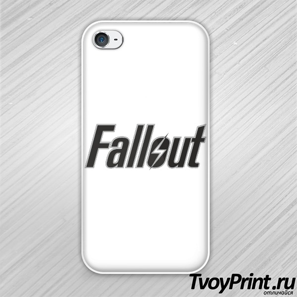 Чехол iPhone 4S Fallout