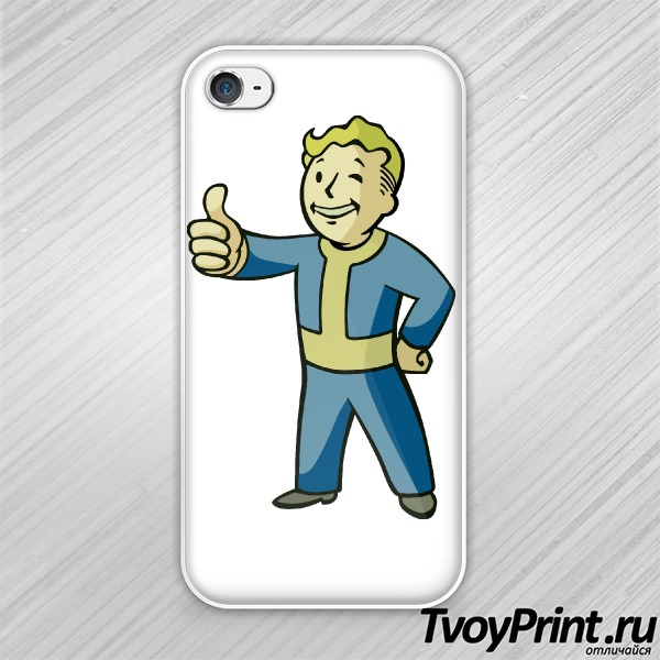Чехол iPhone 4S Fallout PipBoy
