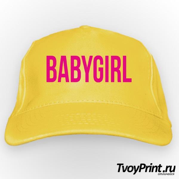 Бейсболка babygirl