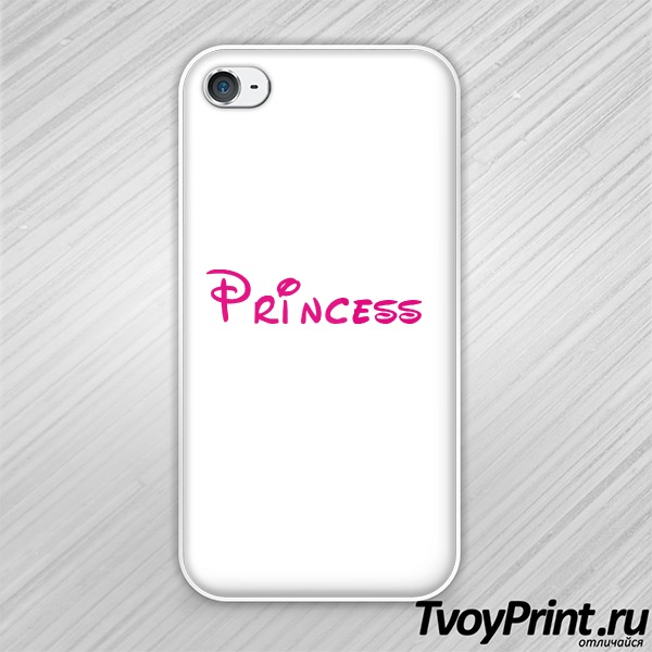 Чехол iPhone 4S princess