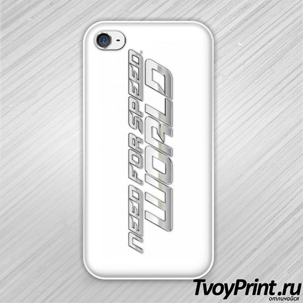 Чехол iPhone 4S Need for speed world