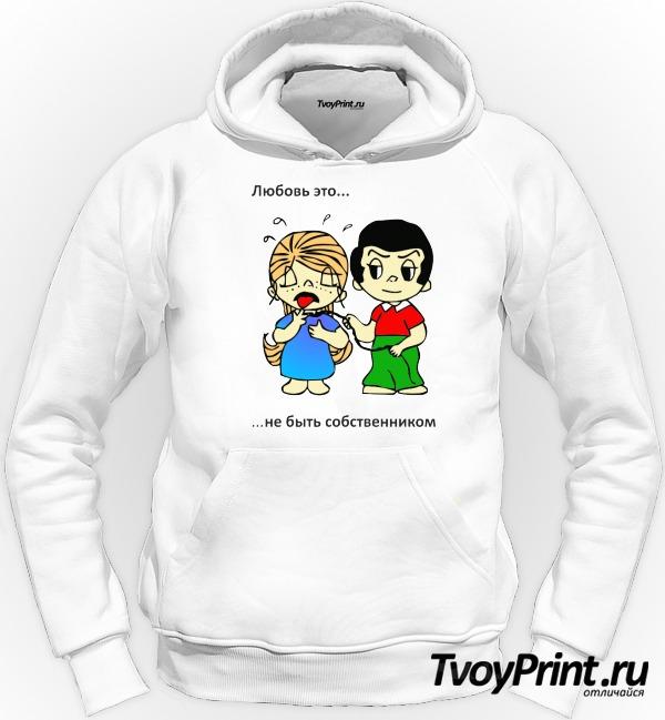 Толстовка Love is