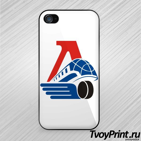 Чехол iPhone 4S Локомотив