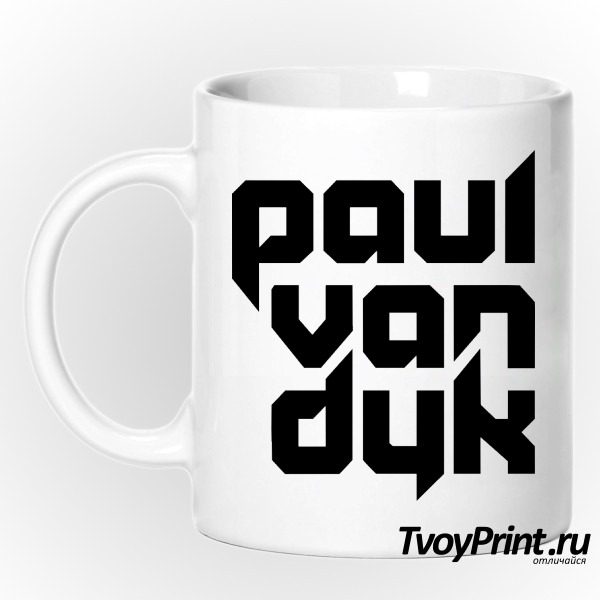 Кружка Paul Van Dyk